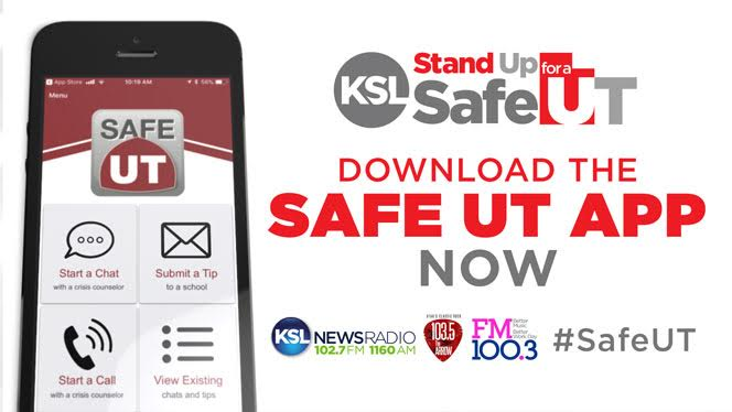 Stand Up for a Safe Utah with the SafeUT app